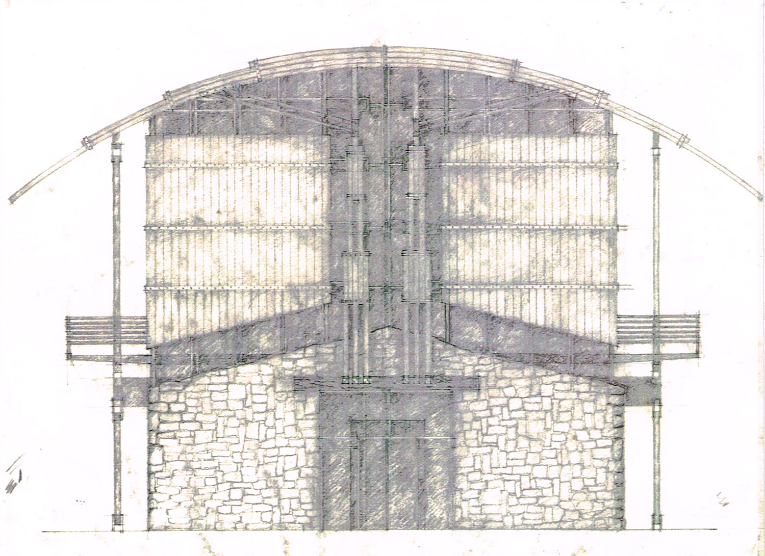 East Elevation Sketch