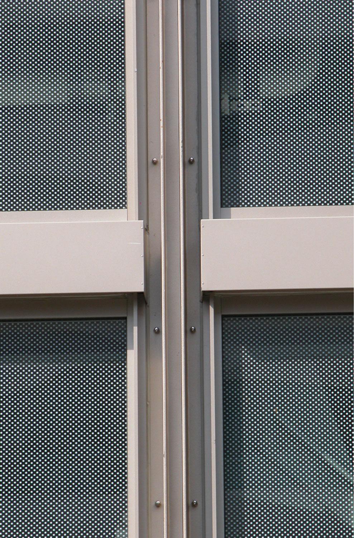 Metal Panel Glass Detail