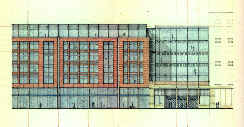 East Elevation Concept Sketch