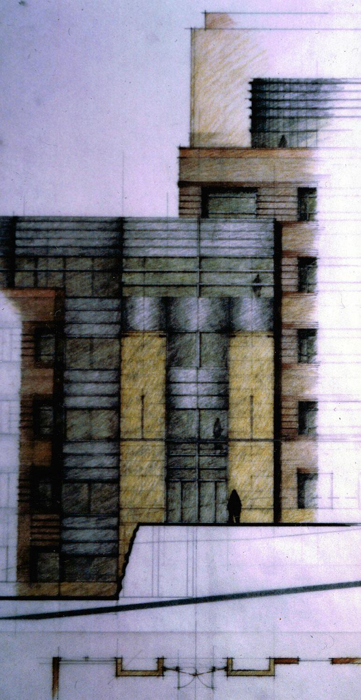 Entry Concept Sketch