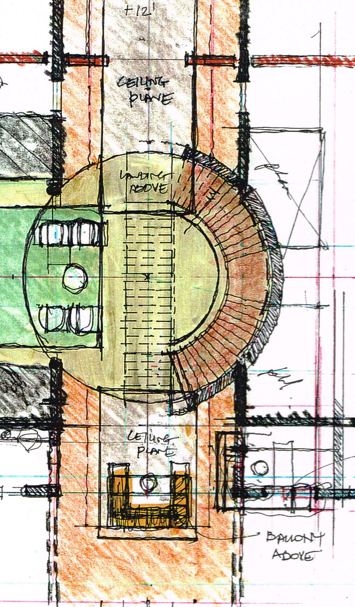 Enlarged Plan Sketch
