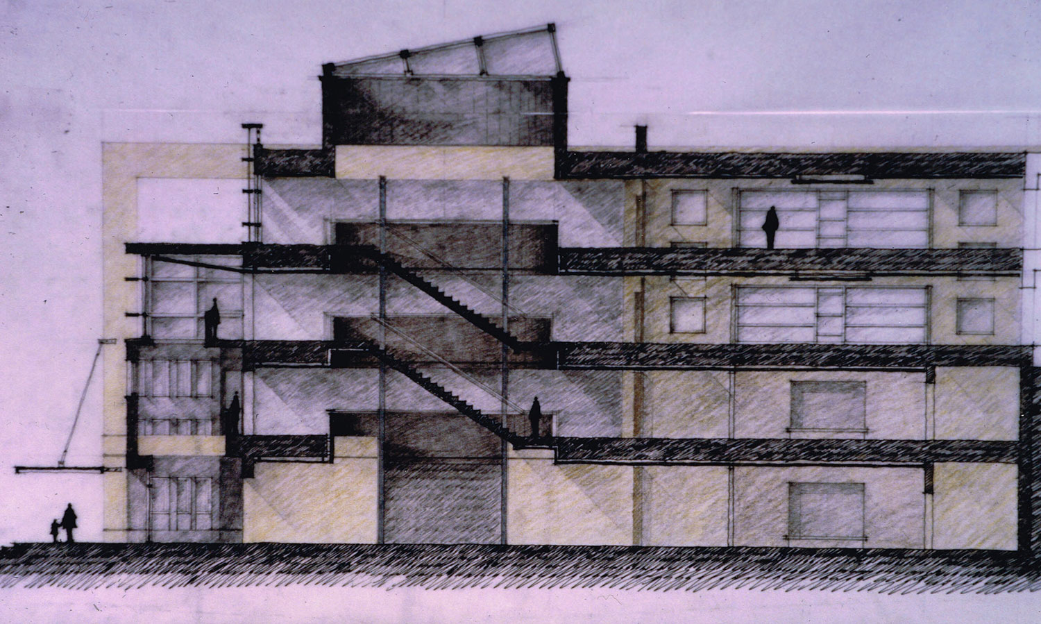 Building Section Sketch