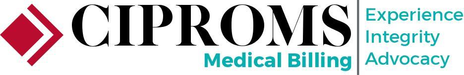 CIPROMS Medical Billing Standard with Tag - Black CIPROMS Red Chevron Blue Medical Billing and Tag.jpg