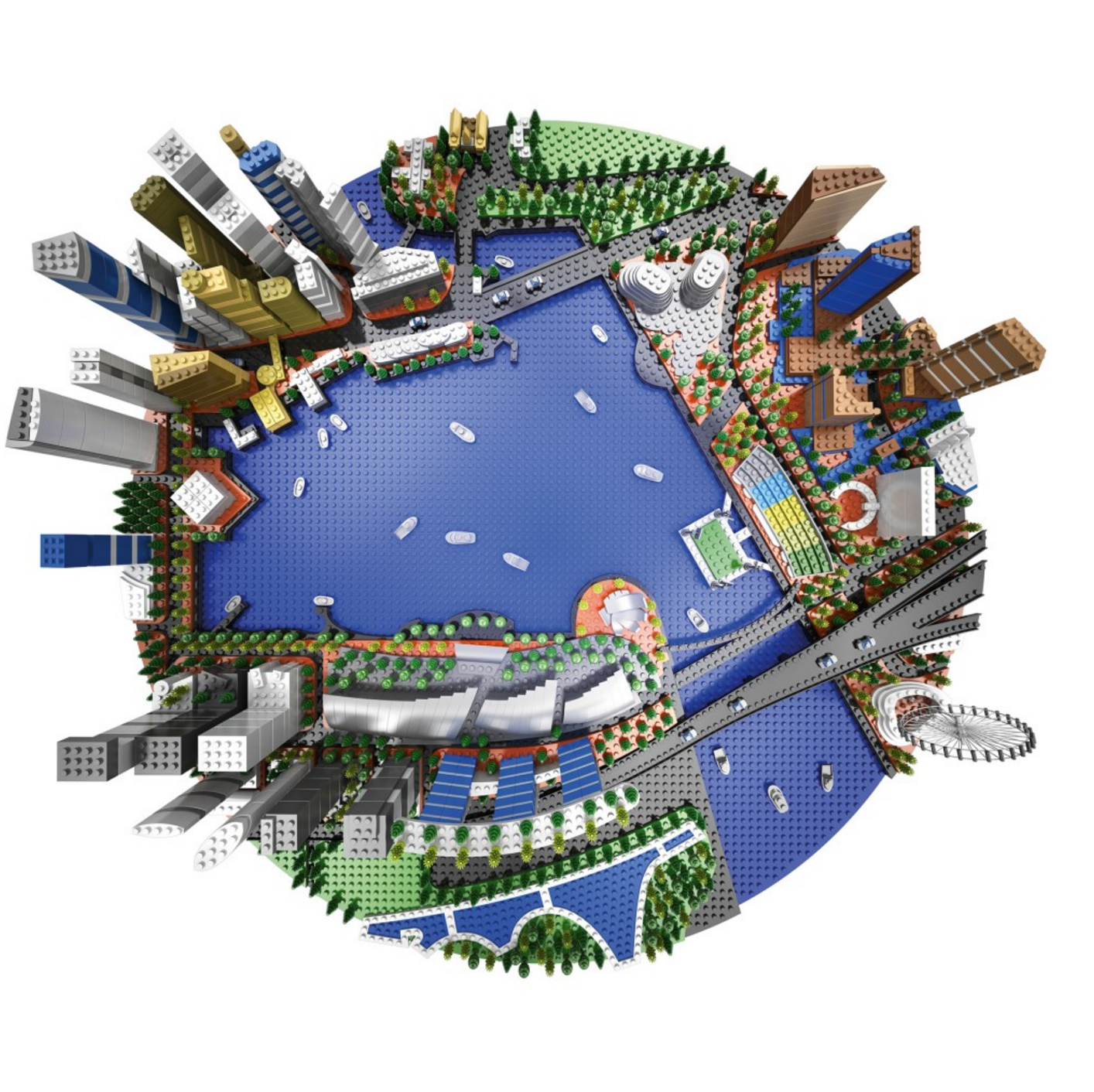 Singapore Economic Development Board – Lego