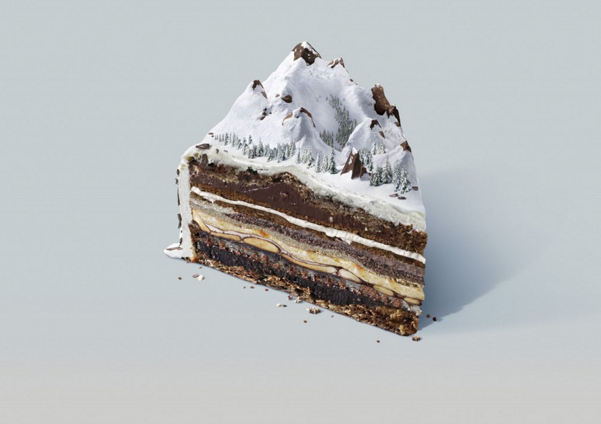 Nissan Xterra SUV – Snow Cake