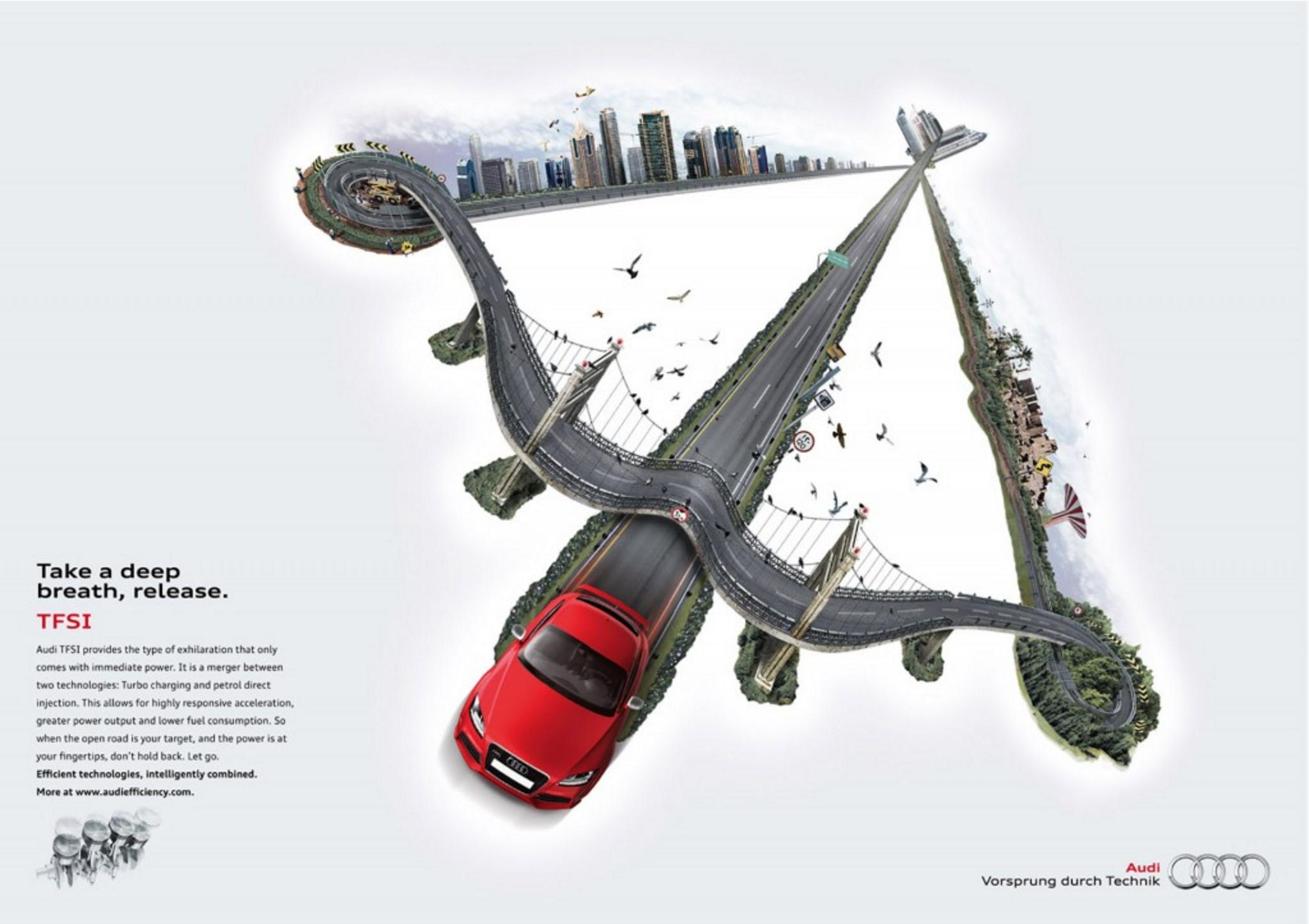 Audi – Efficiency (Bow and Arrow)