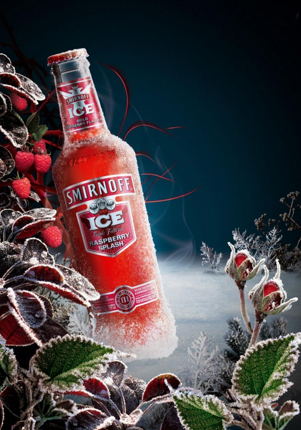 Smirnoff Ice – Raspberry Splash