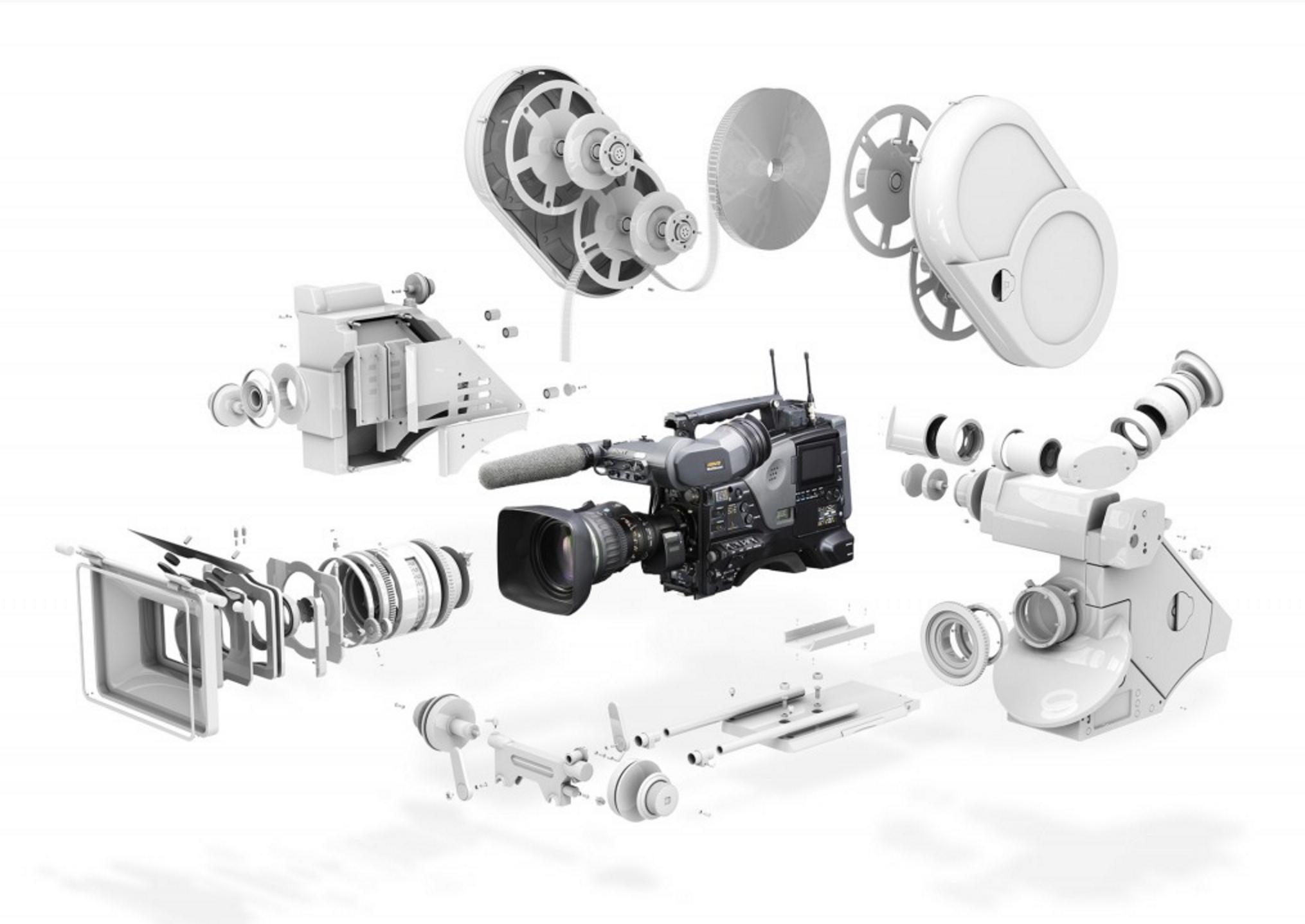 Videocamera parts