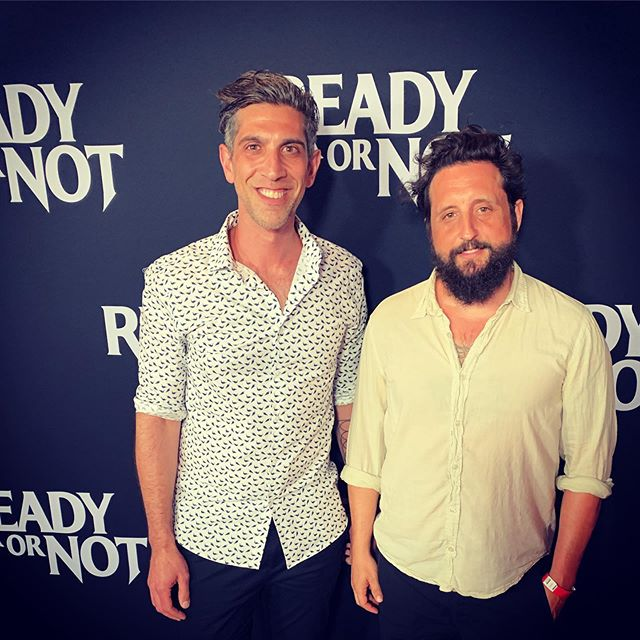 Produced and wrote some music for this movie. @readyornotfilm. Premiere last night, movie and soundtrack out tomorrow!