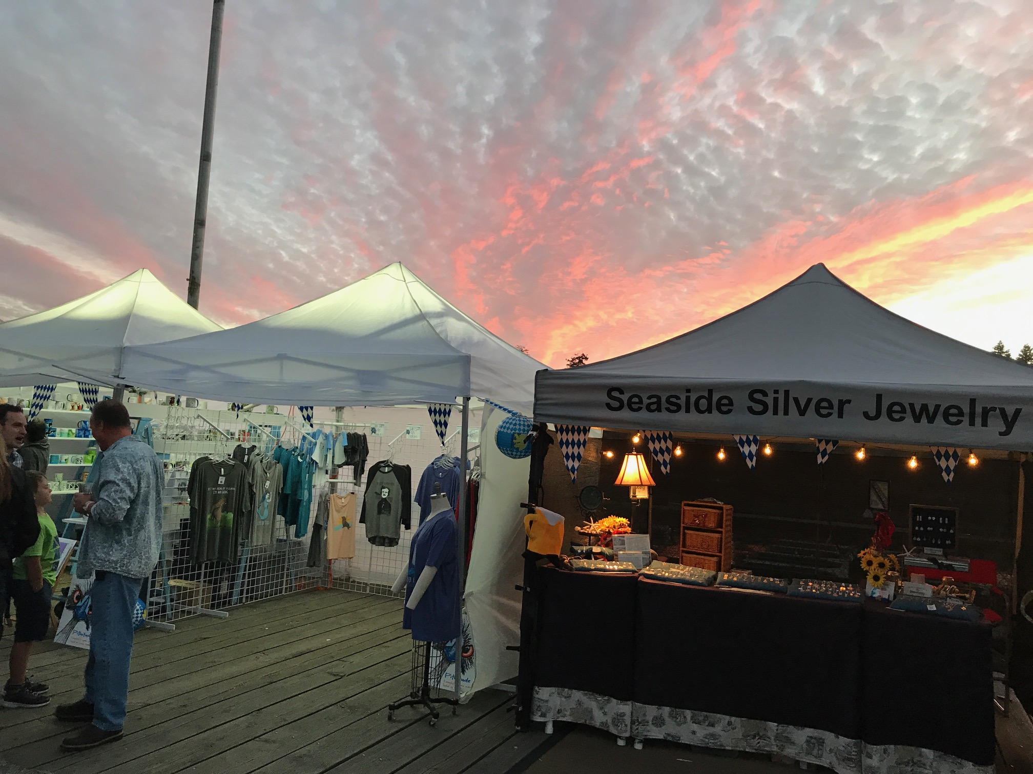 Pic by Susan Baughman of Seaside Silver Jewelry