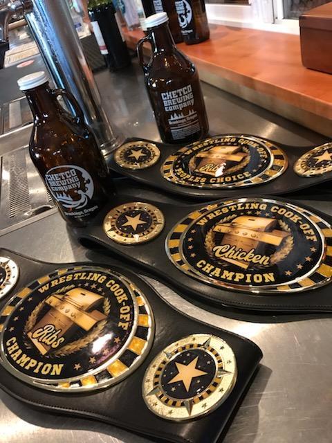 BBQ Champion Belts