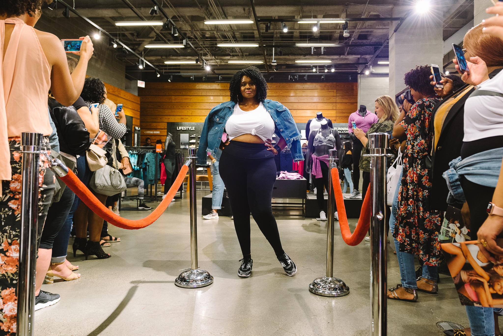 Hayet Rida Chicago Nike Plus Size Line Event Fashion Lifestyle Blogger Nike Air Society Vapor Max 51.jpg