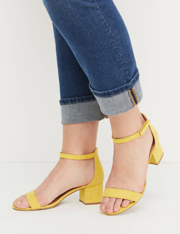 Copy of Short Block Heel Sandal