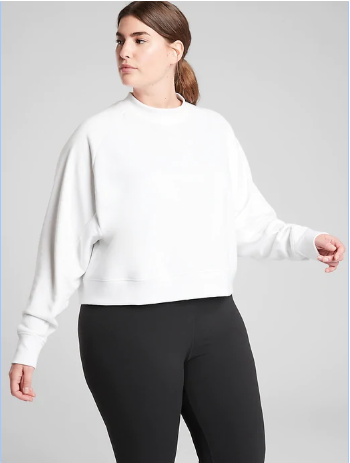 Bounce Back Crop Sweatshirt