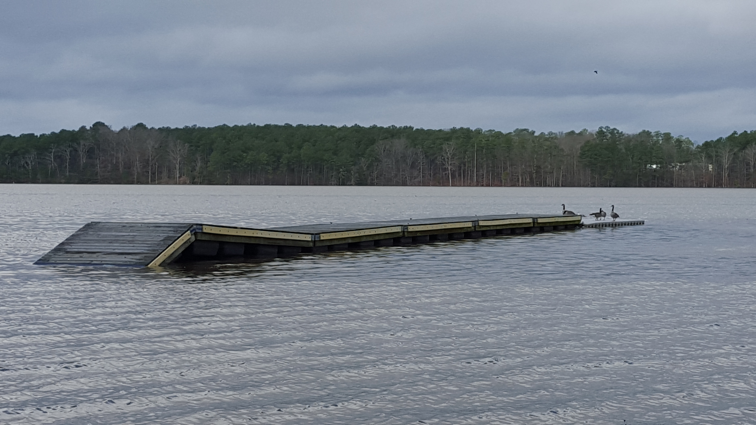 Dock as an island