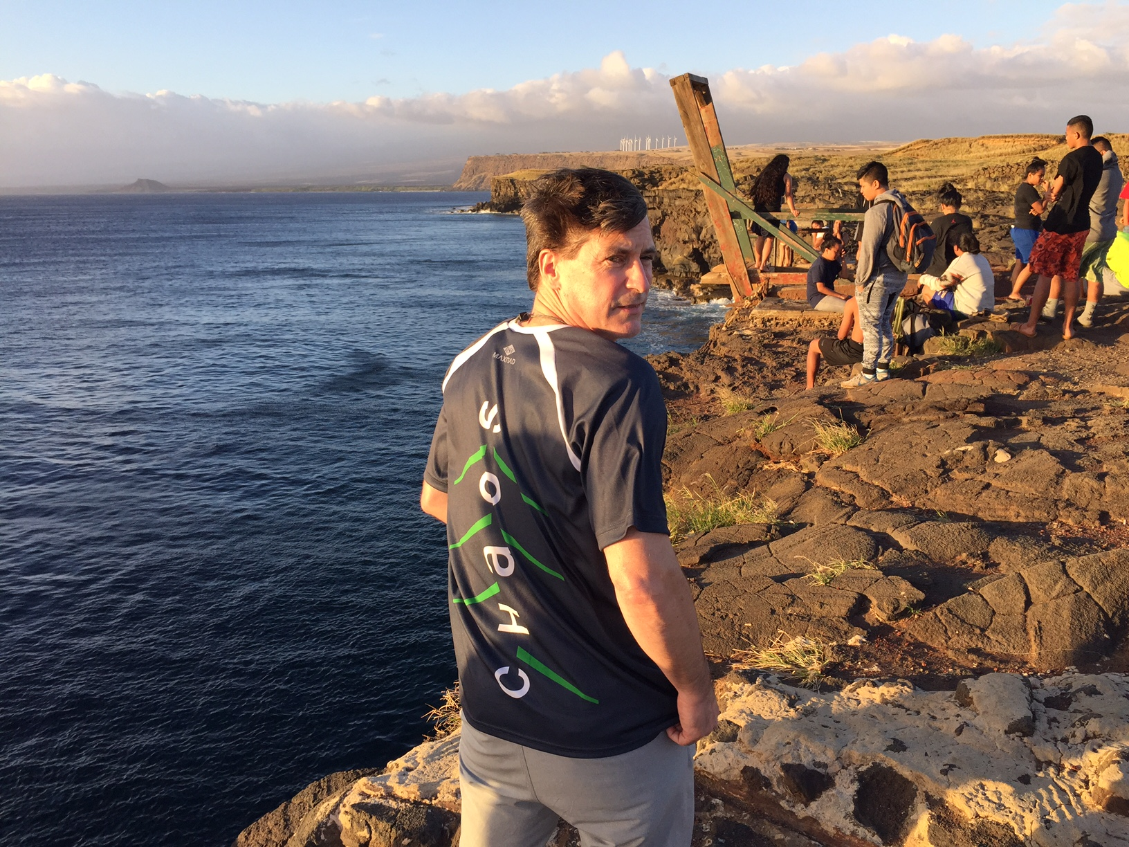 While Tim enjoys the Southern most point of the US on Hawaii ...