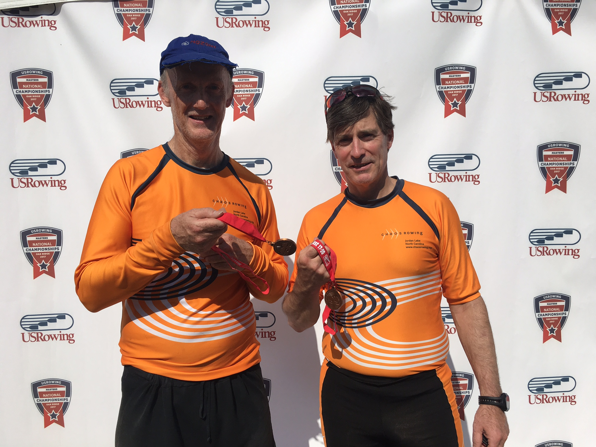 Richard and Tim - 3d in Men's E 2x at Master Nationals 2017 in Oak Ridge