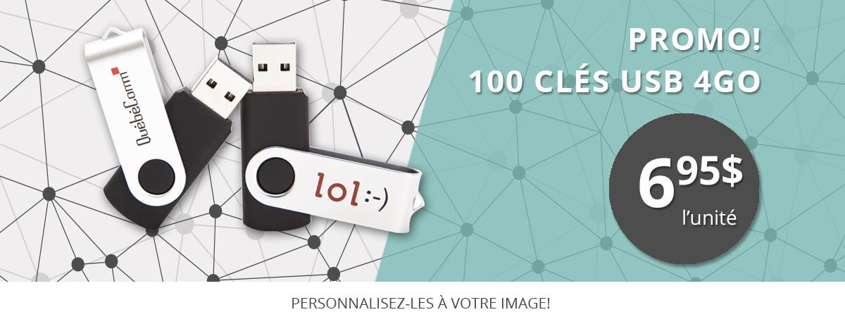 Promo! Clé USB