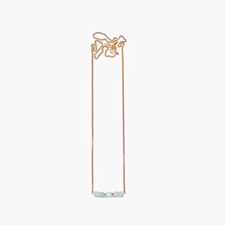 NANA Bijoux Halskette Goldplattiert Gold Rondellen Amazonit 13_1.jpg