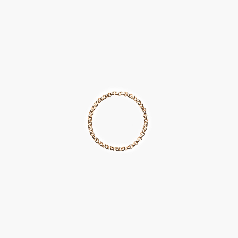 NANA Bijoux Fingerring Goldplattiert Gold Erbskette_1.jpg