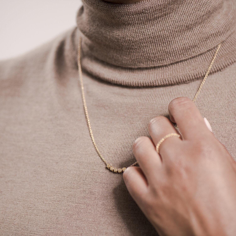 NANA Bijoux Fingerring Goldplattiert Gold Erbskette_2.JPG
