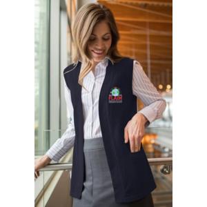 Ladies' Open Cardigan Vest $42