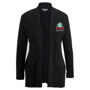 Ladies' Shawl Collar Cardigan Sweater $50