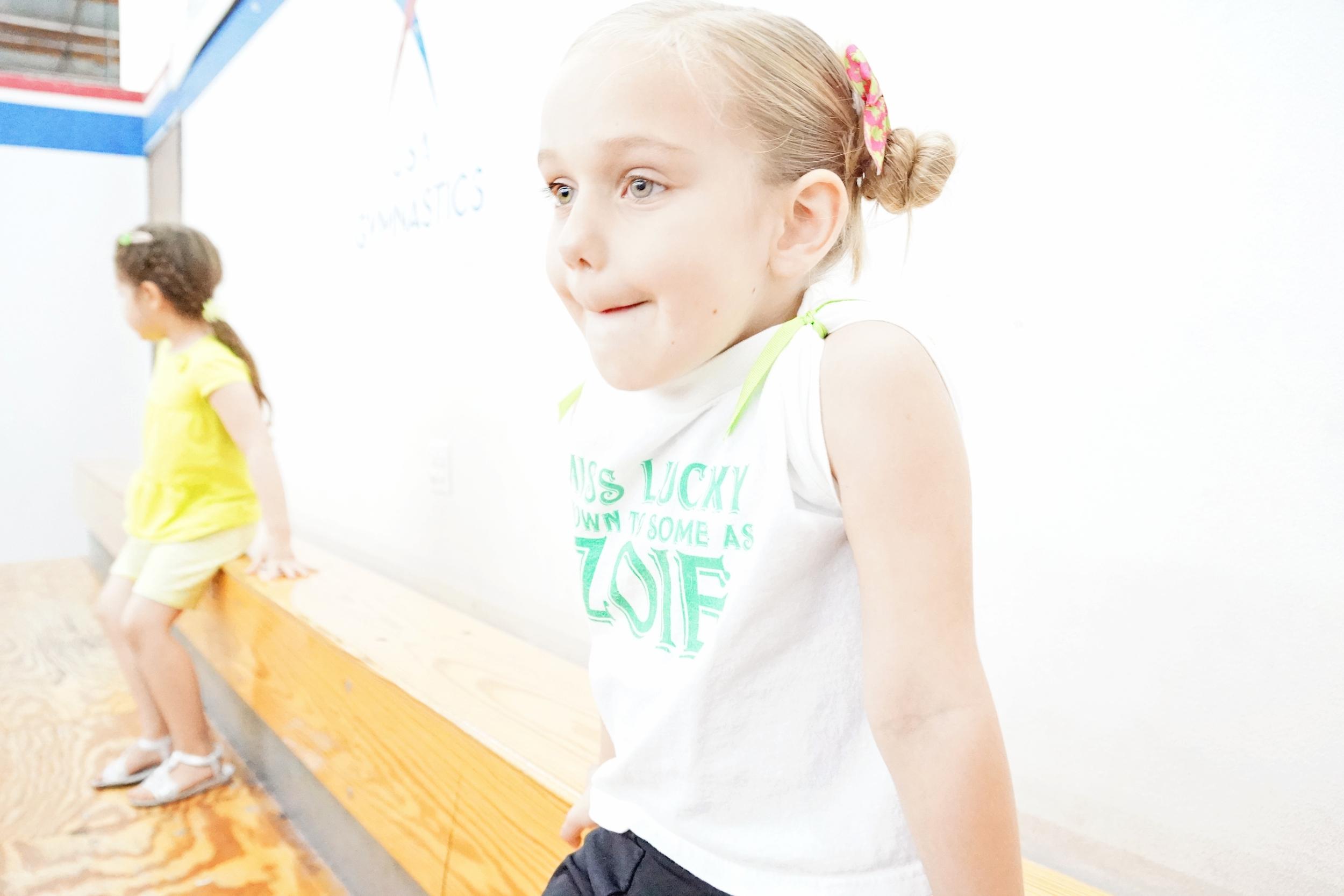Zoie gymnastics