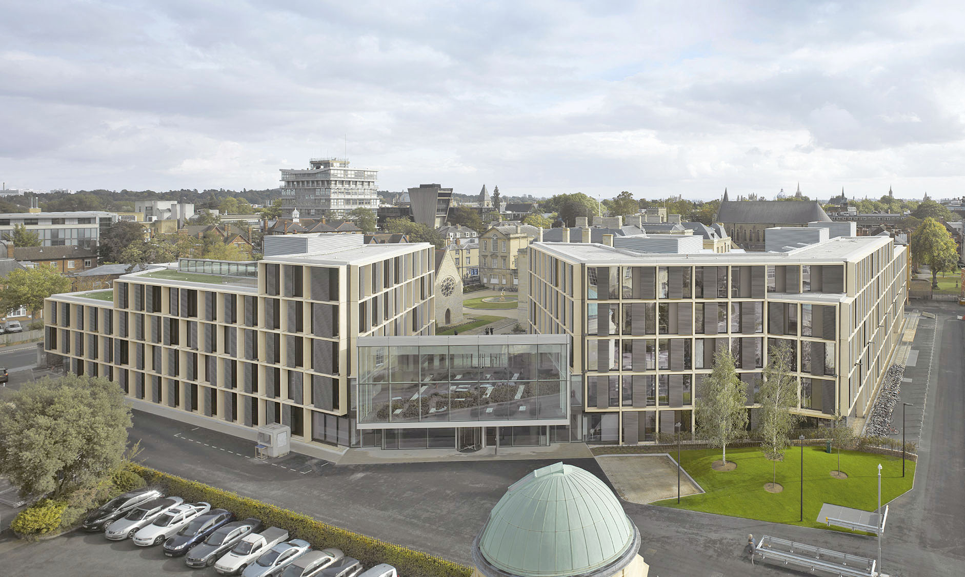 Mathematical Institute, University of Oxford, 2014 / Courtesy of Rafael Viñoly Architects