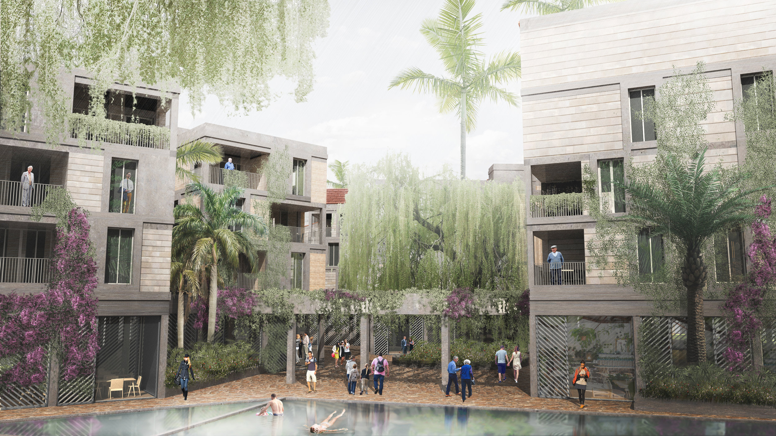 Our new scheme in San Miguel de Allende is in design phase, soon to be filed in for planning - in collaboration with RVdG