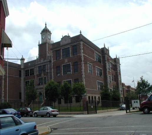 Newport Intermediate School, designed by Architect C.C. Weber. Photo courtesy of Campbell County Property Valuation Administrator.