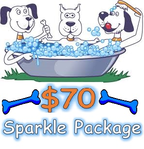 This is the ultimate package for your  dog & pocket !