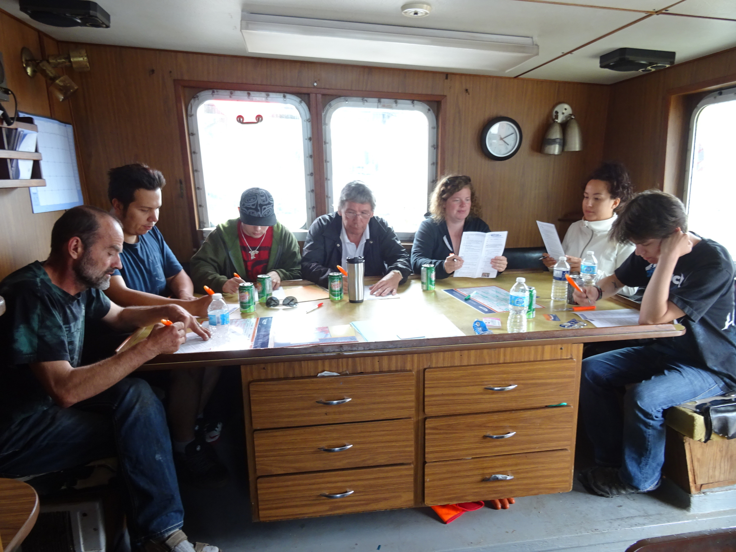 CourseonBoat