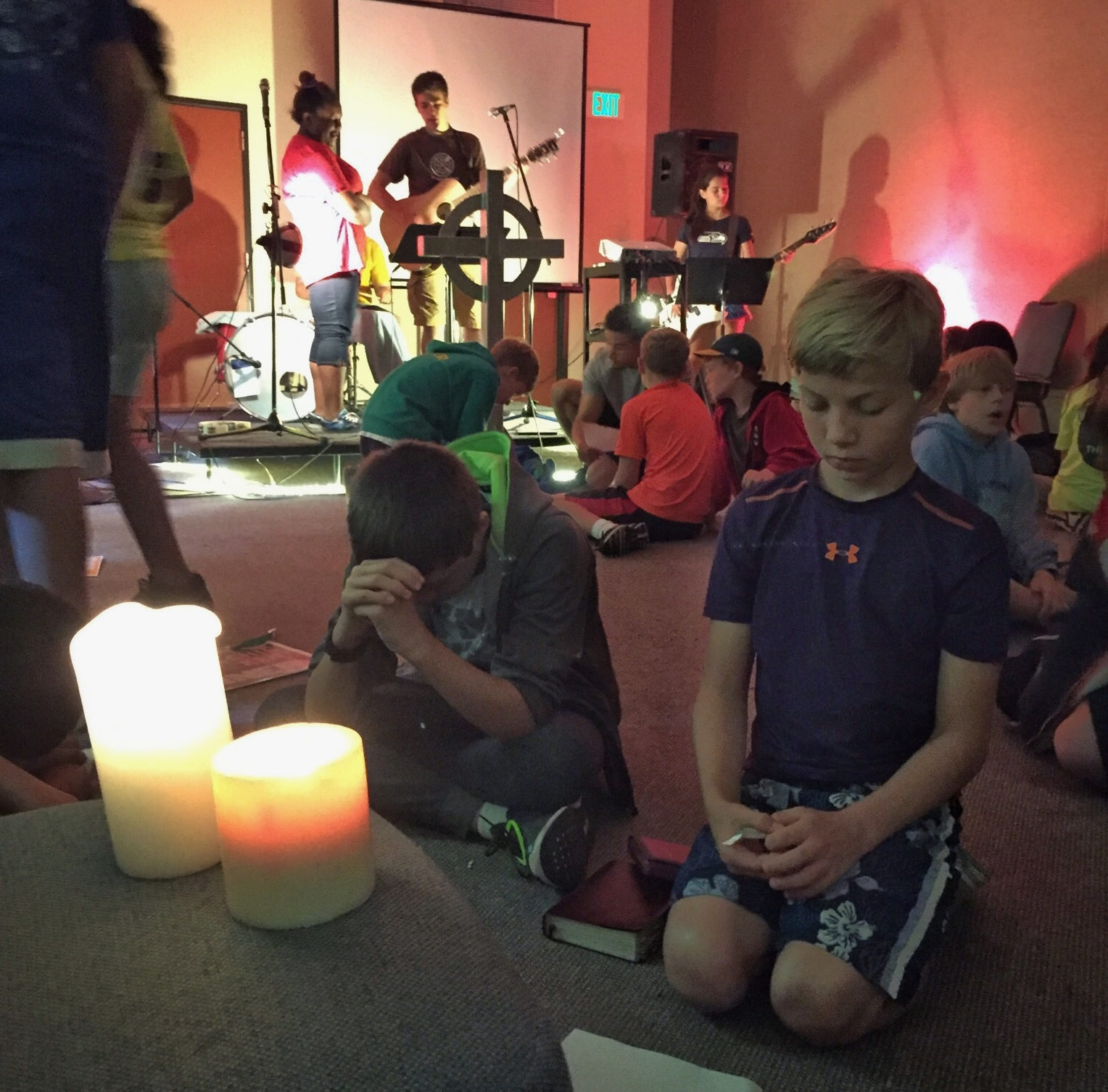 Learning to worship -