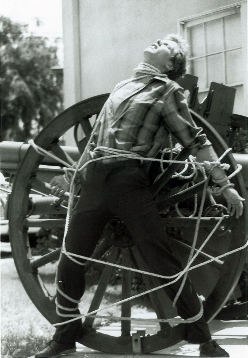 Roped to Cannon
