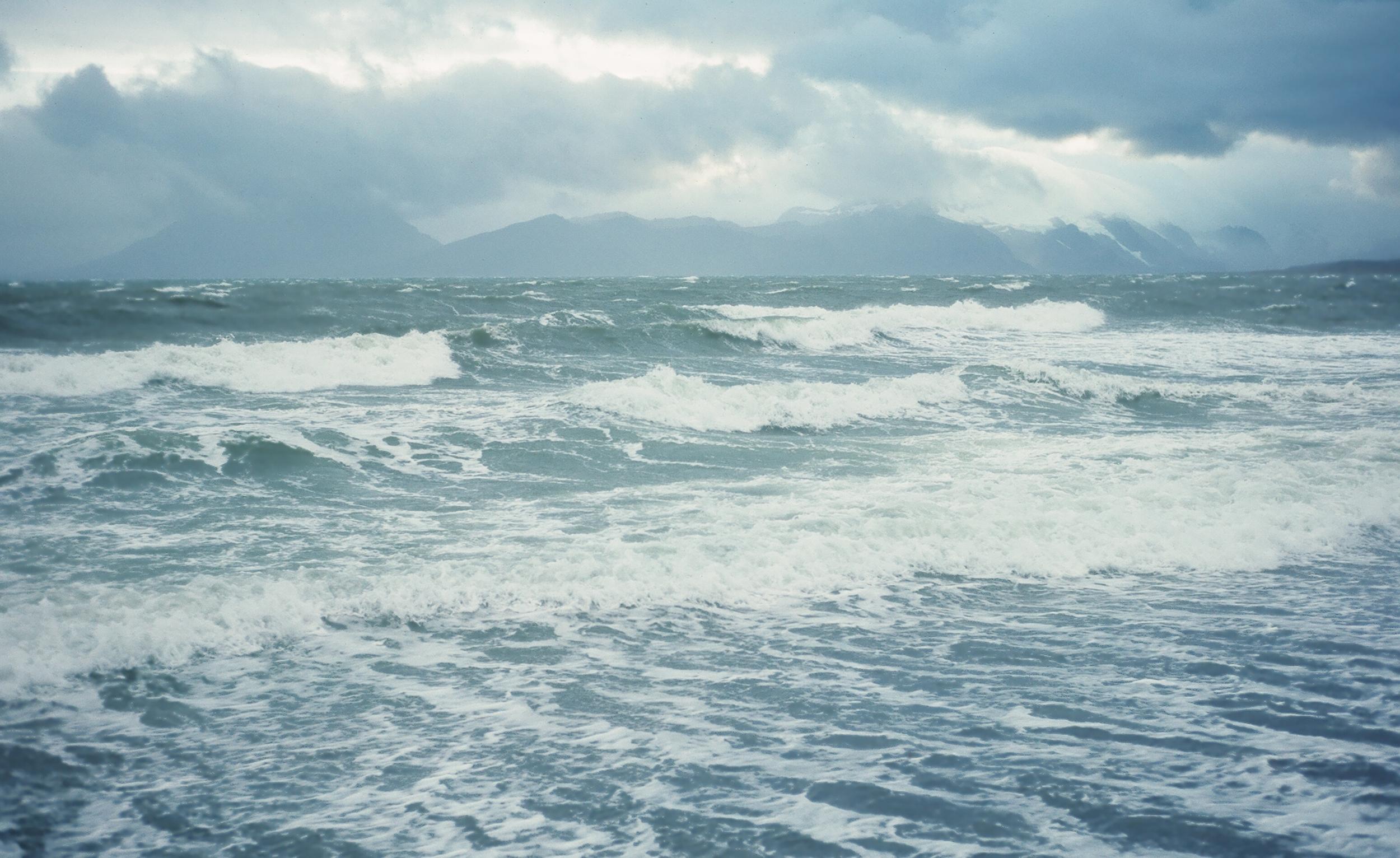 Bad seas at Cold Bay.