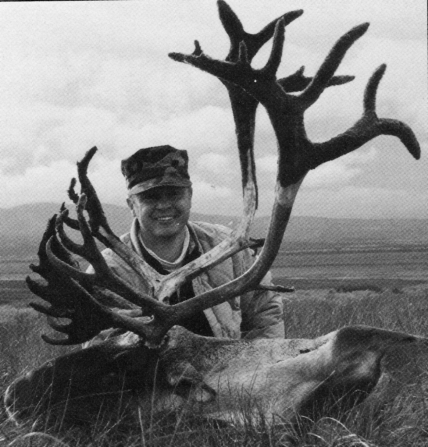 Mike Blair, New York City police officer with his well deserved caribou.