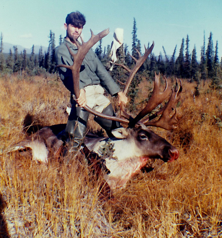 Gary with my second caribou. To this day I don't like the riding photos.