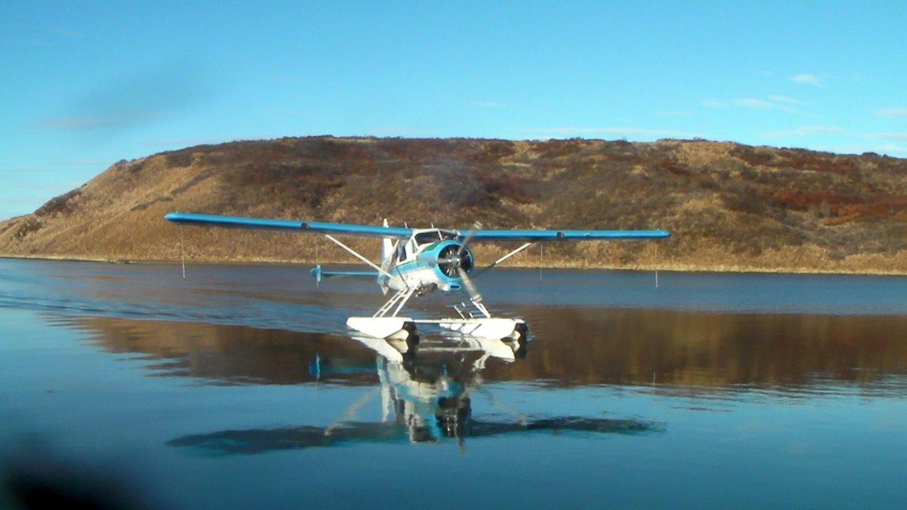 Rolan in the Sea Hawk Air beaver.