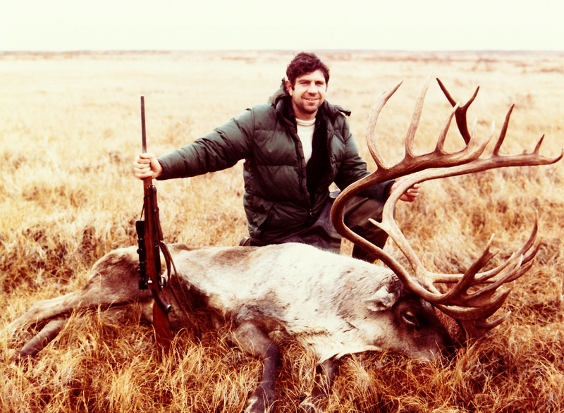 """The 395 B&C caribou that I shot before the """"Big Boy"""" showed up while hunting """"the dunes."""""""
