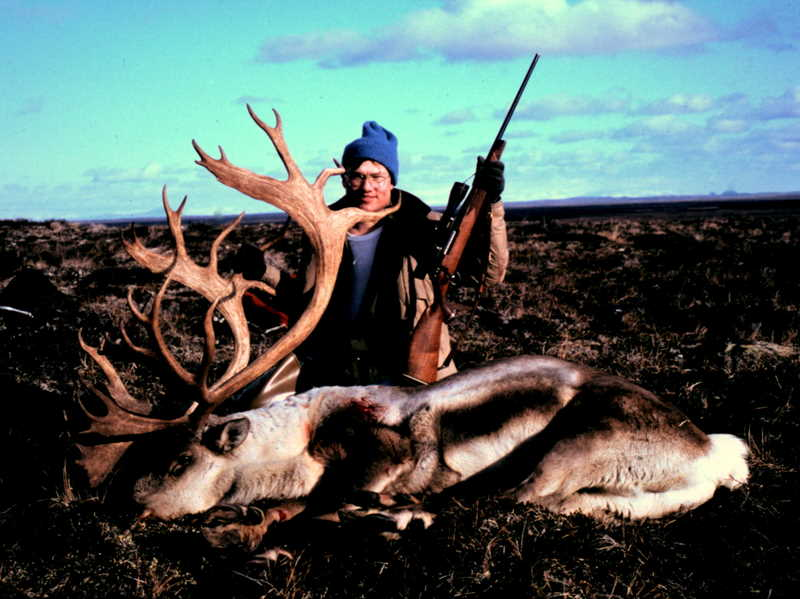 Ron Watts with his 390+ B&C that he took while we were hunting around Jensen Strip.