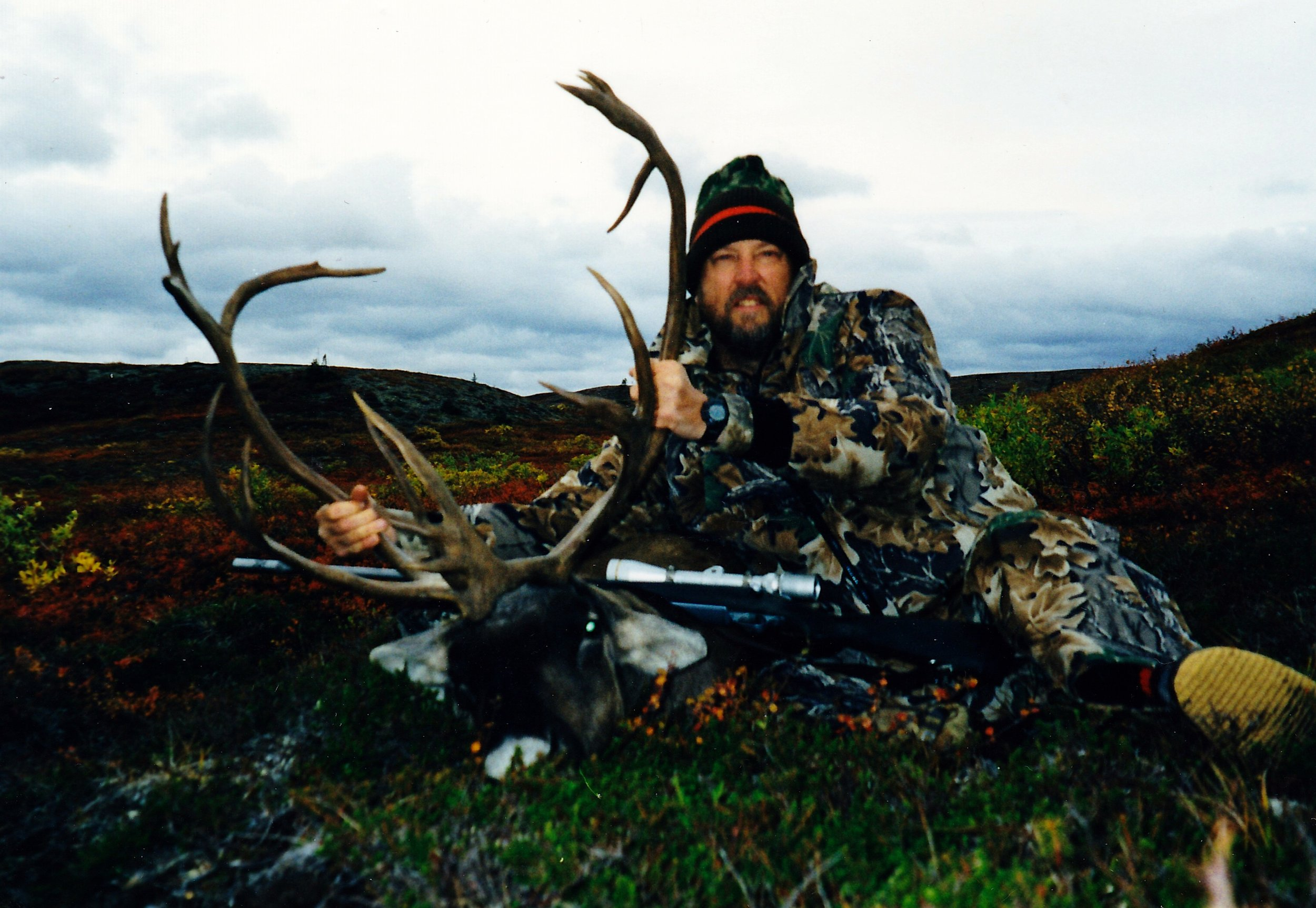 Al with his caribou.
