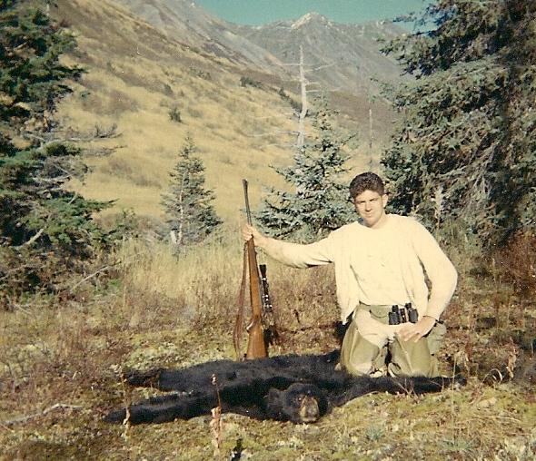 My first black bear taken September '67.