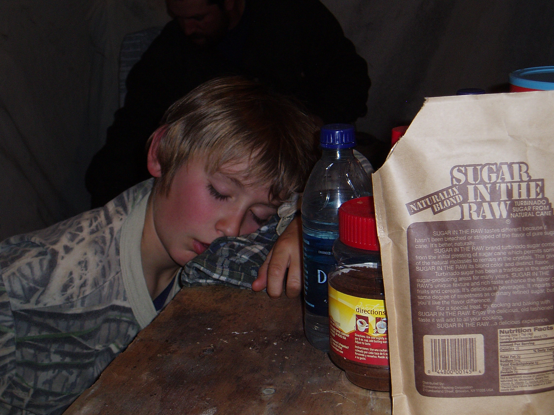 Nathan after a hard day of packing moose off a mountain.