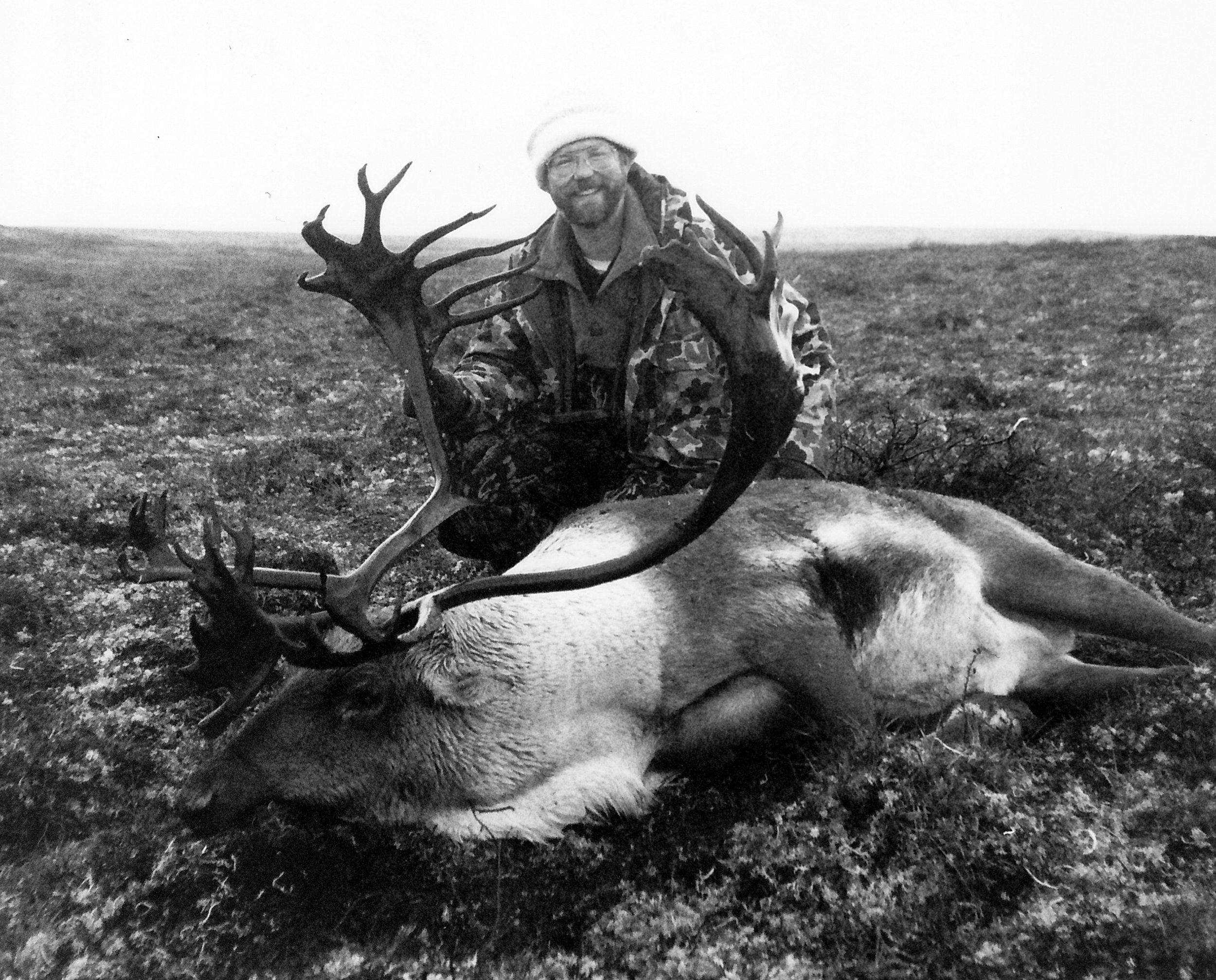 Tim with his 396 B&C caribou.