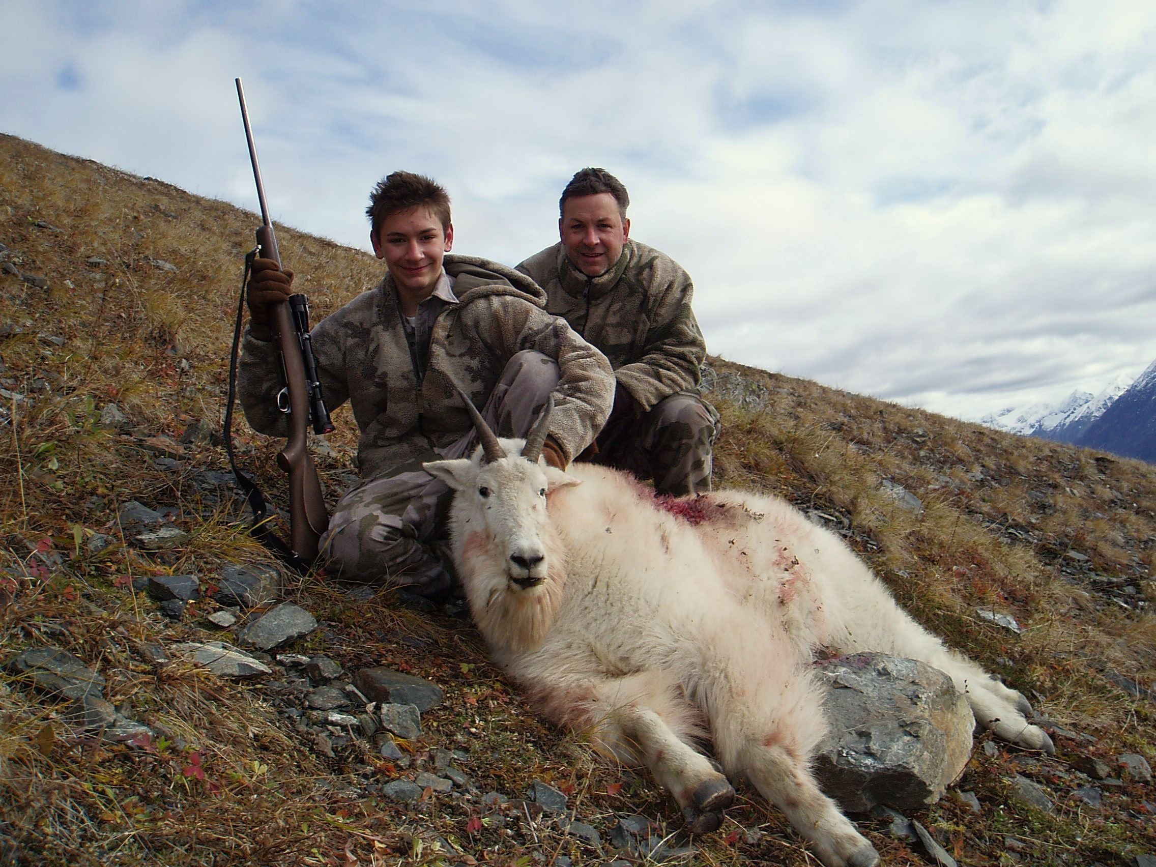 Nathan and his dad. What a great hunt!