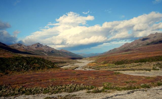 Fall in Alaska.