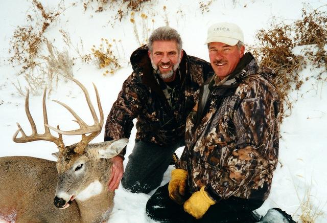 Dan Artery and me with my deer. Great hunt!