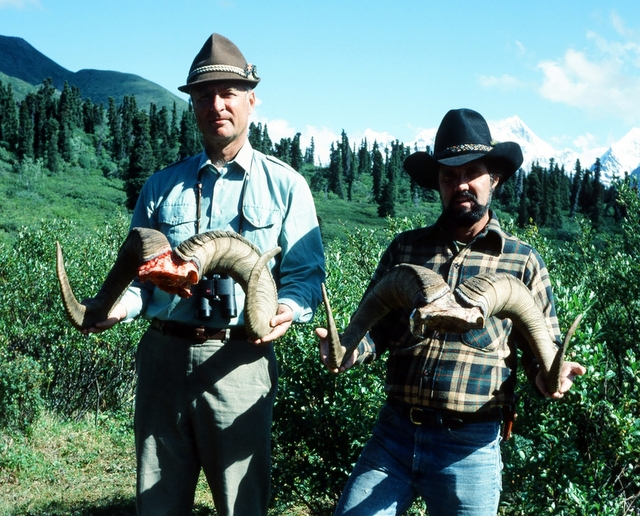 Our first two sheep hunters, Mike Dobransky and Bob Gourley, a great start for sure.