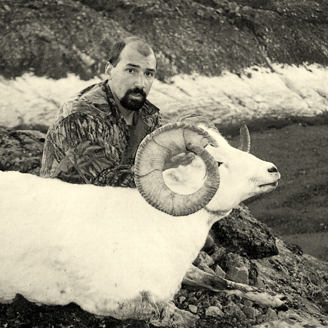 Bart Yenna with his beautiful 40 incher that was taken in the rugged Canyon Creek Glacier area.